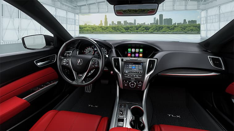 2018 Acura TLX exterior color options