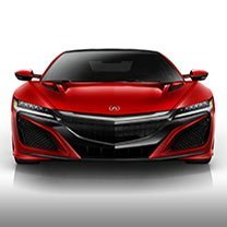 New NSX at Karen Radley Acura