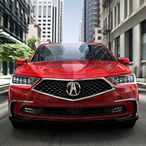 New RLX at Karen Radley Acura